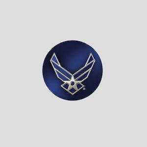U.S. Air Force Logo Detailed Mini Button