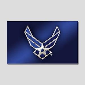 U.S. Air Force Logo Detailed Car Magnet 20 x 12
