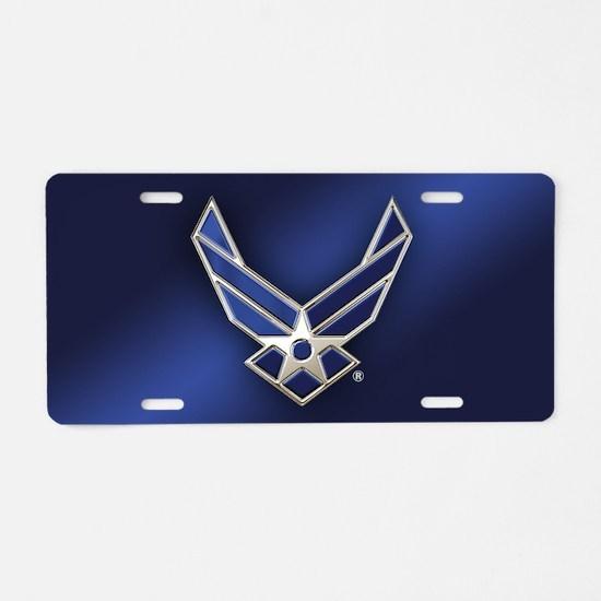 U.S. Air Force Logo Detaile Aluminum License Plate