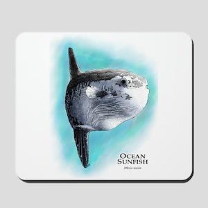 Ocean Sunfish Mousepad