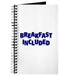 *NEW DESIGN* Breakfast INCLUDED Journal