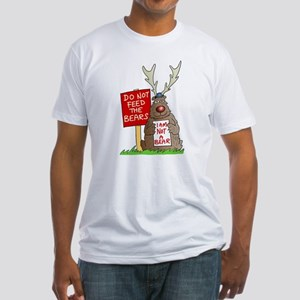 Do Not Feed the Bears Fitted T-Shirt