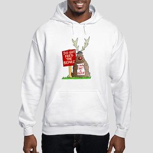 Do Not Feed the Bears Hooded Sweatshirt