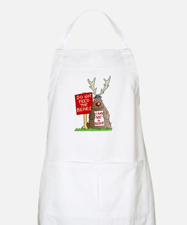 Do Not Feed the Bears BBQ Apron