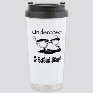 Undercover X-Rated Star Stainless Steel Travel Mug