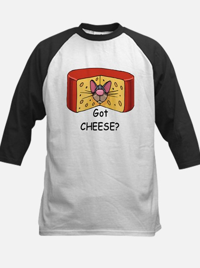 Got Cheese? Kids Baseball Jersey