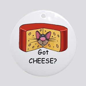 Got Cheese? Ornament (Round)