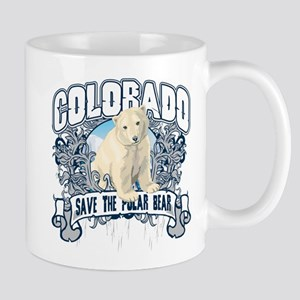 Polar Bear Colorado Mug