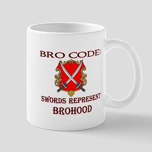 bro-code-swords Mugs