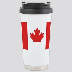 Flag of Canada Stainless Steel Travel Mug