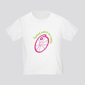 Happy Cycling Toddler T-Shirt
