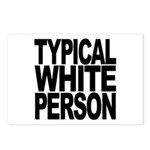 Typical White Person Postcards (Package of 8)