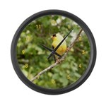 American Goldfinch Large Wall Clock