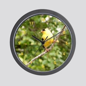 American Goldfinch Wall Clock