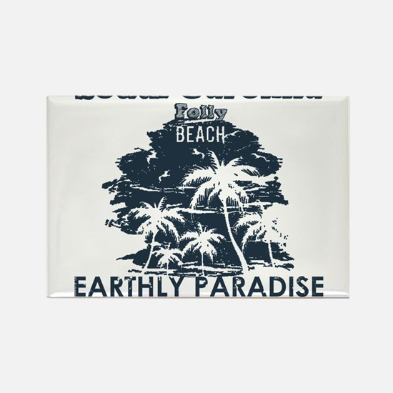 South Carolina - Folly Beach Magnets