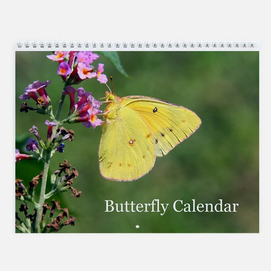 American Butterfly Wall Calendar