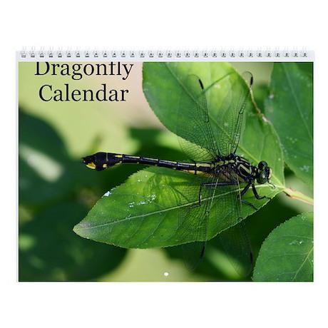 American Dragonfly Wall Calendar