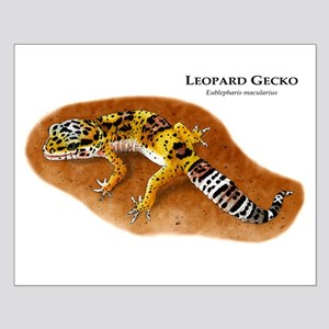 Leopard Gecko Small Poster