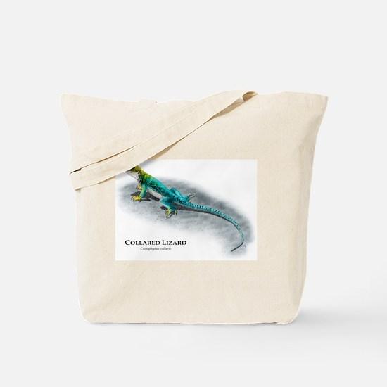 Collared Lizard Tote Bag