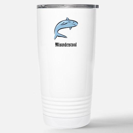 Misunderstood Stainless Steel Travel Mug