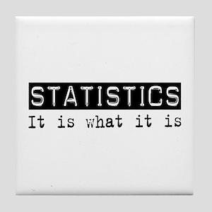 Statistics Is Tile Coaster