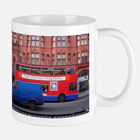 London Bus #2 Mugs