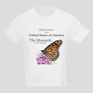 Monarch Butterfly Kids Light T-Shirt