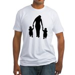 Mother and Children Fitted T-Shirt