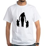 Mother and Children White T-Shirt