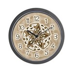Celtic Star Wall Clock