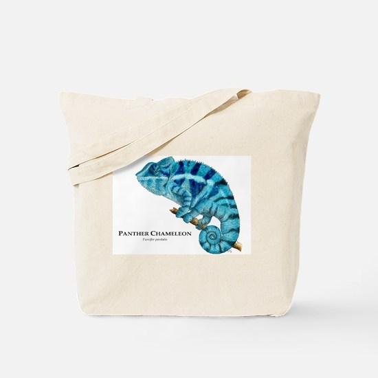Panther Chameleon Tote Bag