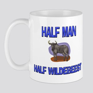 Half Man Half Wildebeest Mug