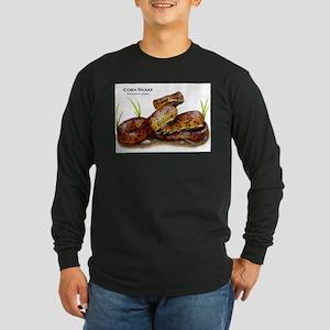 Corn Snake Long Sleeve Dark T-Shirt