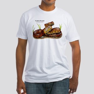 Corn Snake Fitted T-Shirt