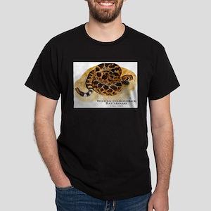 Western Diamondback Rattlesna Dark T-Shirt