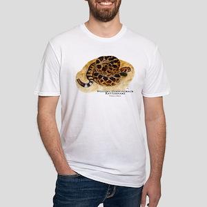 Western Diamondback Rattlesna Fitted T-Shirt