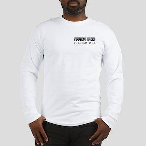 Social Work Is Long Sleeve T-Shirt