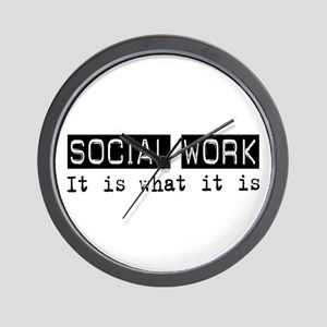 Social Work Is Wall Clock