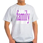 319.family, baby, parents Ash Grey T-Shirt