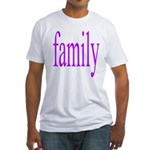 319.family, baby, parents Fitted T-Shirt