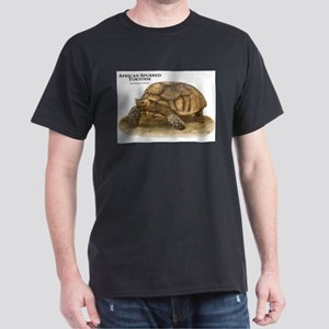African Spurred Tortoise Dark T-Shirt