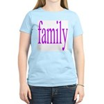 319.family, baby, parents Women's Pink T-Shirt