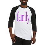 319.family, baby, parents Baseball Jersey