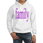 319.family, baby, parents Hooded Sweatshirt