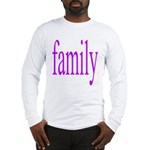 319.family, baby, parents Long Sleeve T-Shirt