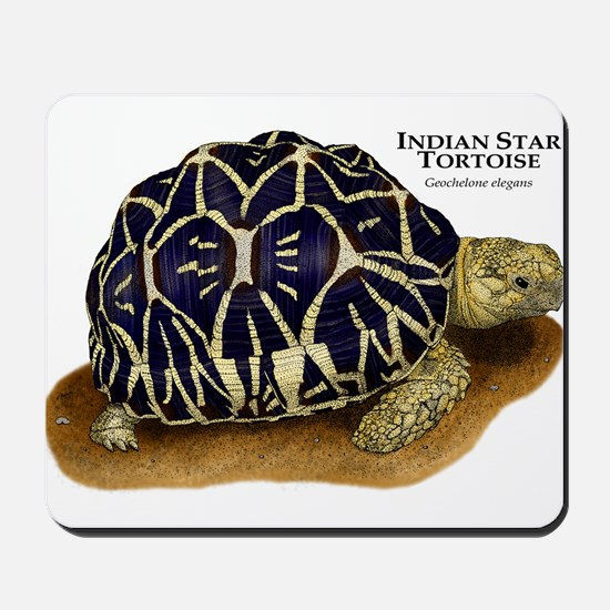 Indian Star Tortoise Mousepad