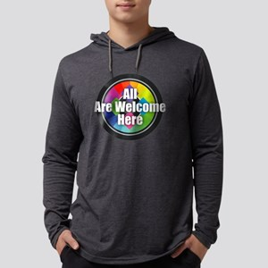 All Are Welcome Here Long Sleeve T-Shirt