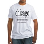 367.chicago Fitted T-Shirt