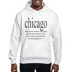 367.chicago Hooded Sweatshirt