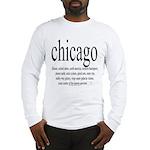 367.chicago Long Sleeve T-Shirt